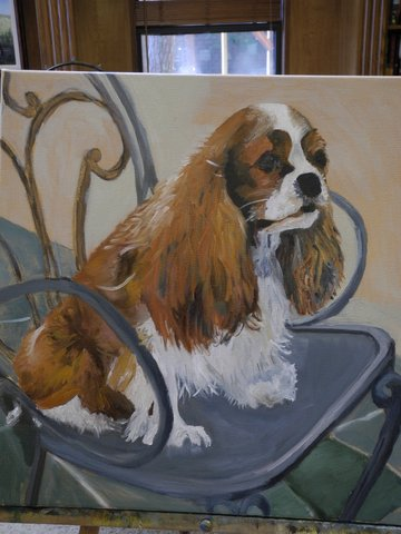painting Bailey 3