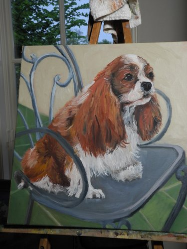 painting Bailey 6