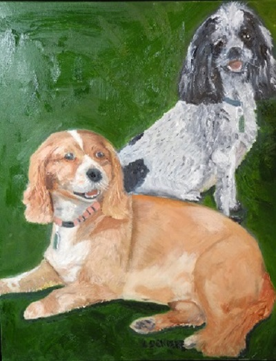 challenging pet painting