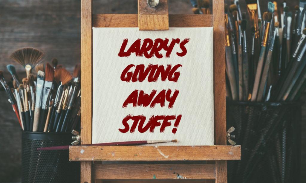 Larry Gekiere - Artist is having a GIVEAWAY
