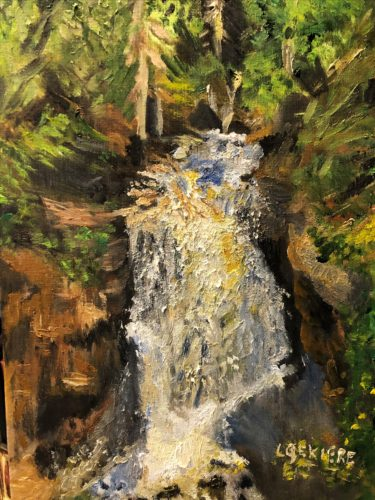 Miners Falls Captured in Oils