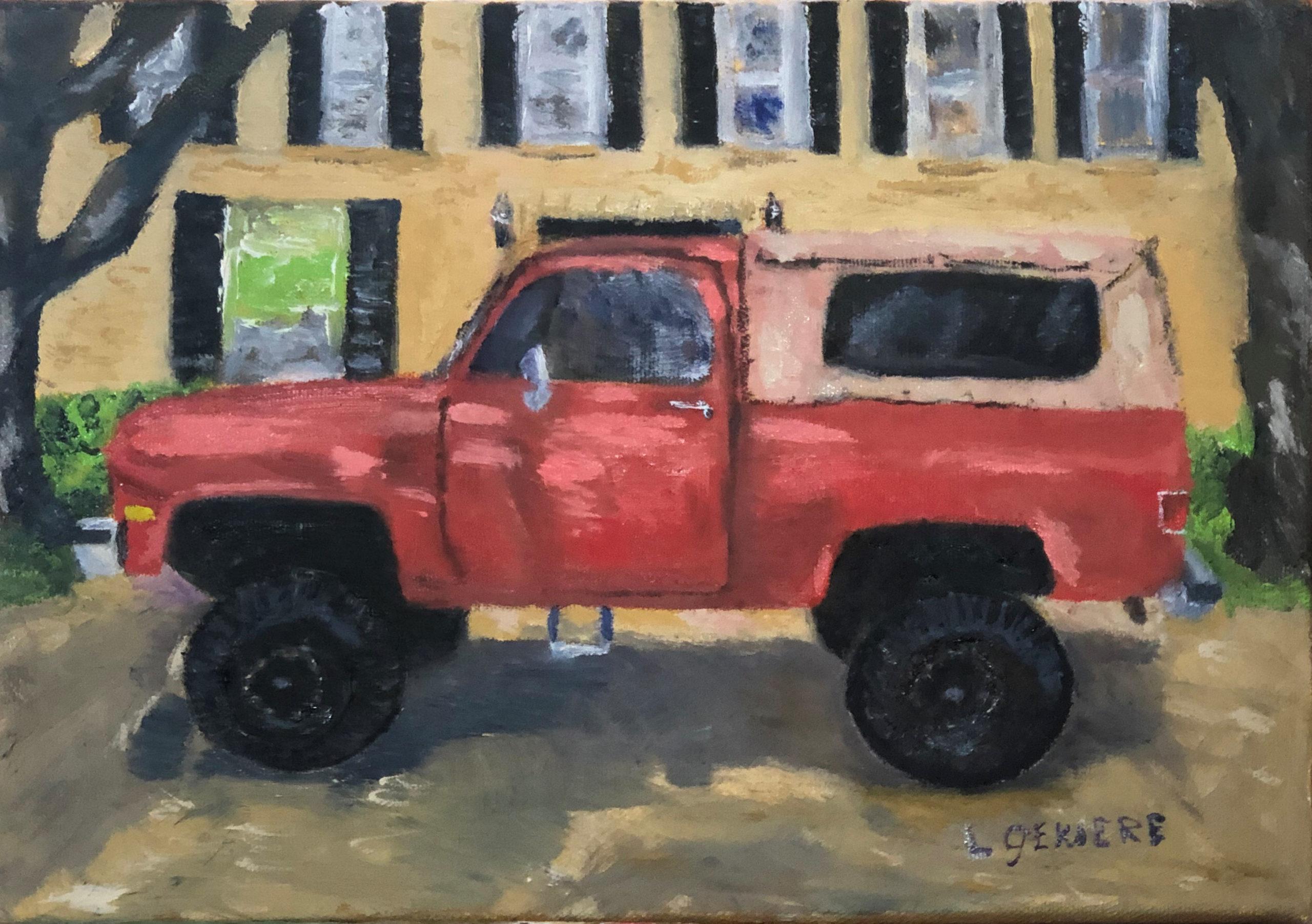 Restored Truck Painting